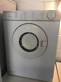 Crusader 3kg Tumble Dryer Fully Working Order Just £30 Sittingbourne