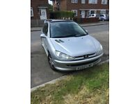 Peugeot 206, Silver, Manual, Excellent Condition