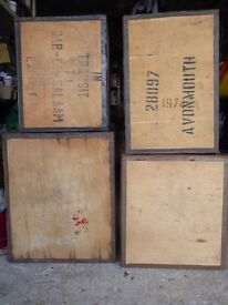 Household: For Sale Tea Chests, good & clean £5 each. 01279832226