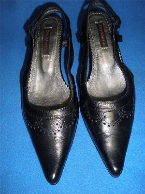 TOP QUALITY LADIES SHOES'DRY MARTINI' IN BLACK LEATHER SIZE 37- 7 ()