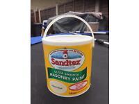 Sandtex 2.5L Clotted Cream Unopened