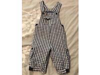 Baby Boy Dungarees 12-18 Months