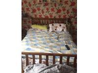 Oak Kingsize bed frame