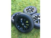 "16"" 17"" VW Transporter T6 T5 T32 Highline Alloy Wheels Tyres"