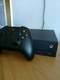 REDUCED !!! XBOX ONE X WITH 10 GAMES