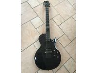 Chapman ML2 - Les Paul style single cutaway guitar = Stunning Black Finish
