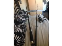 12ft carp rod and reel £30 ono selling due to not in use