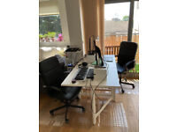 RESERVED: IKEA NORDEN extendable DINING TABLE