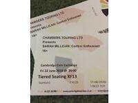 2 x Sarah Millican tickets, Cambridge corn exchange