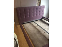 Super King Size bed frame - Aubergine (Purple) - Really impressive bedframe if you have the space!