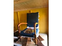 Antique ladies cigar chair