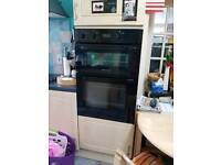 Hotpoint double oven