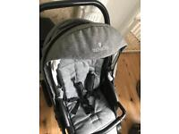 Venicci buggy & car seat travel system