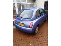 2005 Nissan Micra 1.2ltr Spares / Repair Accident Damage Excellent Engine & Gearbox, Parts