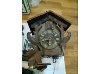 German vintage cuko clock