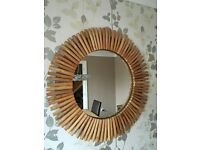 'NEXT' Bamboo mirror