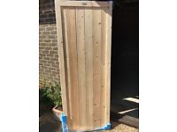 "New Guildford Side Gate from Gates and Fences UK 2ft 5"" by 6ft 6"" - unpainted"
