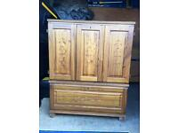 Wooden cabinet With free local delivery!