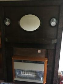 Vintage 1930s fire surround
