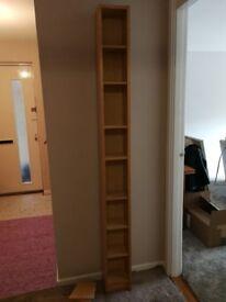 Pine CD Storage Shelving Unit