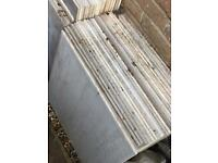 Assorted tiles (indoor & outdoors) (vary in size and colour)