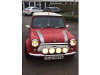 Classic Mini Cooper red 1995 1275cc, £4000 ONO