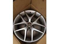 "Saab/ Vauxhall Alloys Rims Wheels 17"" 5x110"