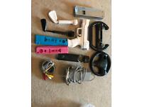 Bargain collection of Wii Accessories including remote cases