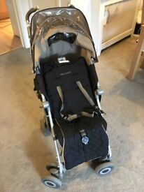 Maclaren buggy for sale. Good condition. Includes cosy toes foot cover and rain cover