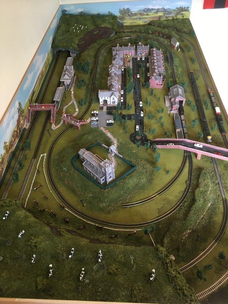 N Gauge Model Railway Layout Complete and ready to run   in Verwood, Dorset    Gumtree