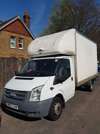 FORD TRANSIT LUTON VAN WITH TAIL LIFT, LOW MILAGE , PERFECT CONDITION,NEW M.O.T !