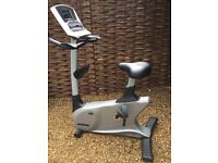 Vision fitness U40 upright cycle elegant consule