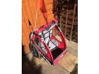 Kids Single Bike Trailer - Good condition