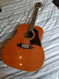Vintage Eko Rio Bravo 12 String guitar 1970s