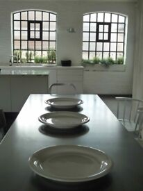 12x Large Conran White Heavy Glazed Italian Ceramic Platters PERFECT for Dinners