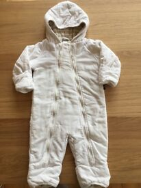 PO.P winter padded pramsuit 6months-2 years