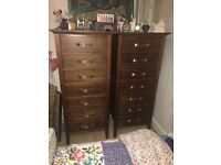 Chest of Drawers (x 2) and Bedside Tables (x 2)