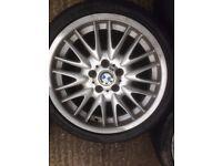 """Genuine 18"""" BMW MV1 Rear Alloy"""
