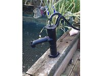 Large cast iron water pump feature