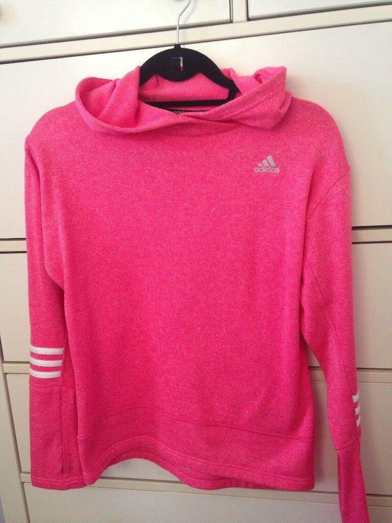 Adidas sports sweater pink size XS