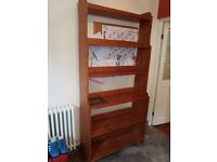 Solid Wood Bookshelf in good condition