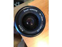 Nikon Nikkor 35-70 mm zoom lens