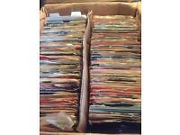 "Vinyl Records - 7"" Sleeved Singles"