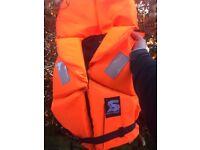 Brand new life jacket 80-120kg