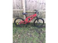 MOUNTAIN BIKE, FULL SUSPENSION, 6 SPEED, EXCELLENT CONDITION