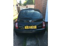 Nissan micra 1.2i 16v Hpi clear great reliable little car (2007 07)