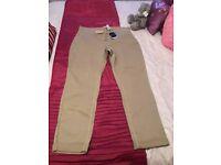 Next Ladies Chino's Size 14 new