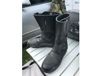 Motorbike boots size 7