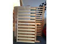 Cot Bed, Excellent Condition
