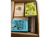 Box of adults books